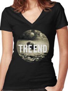 fim Women's Fitted V-Neck T-Shirt
