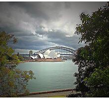 Stormy Sydney by George Petrovsky