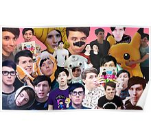 Phan collage #1 Poster