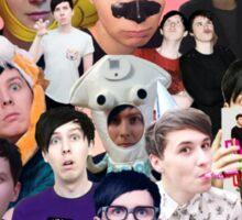 Phan collage #1 Sticker