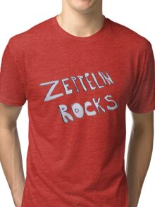 Zeppelin Rocks Tri-blend T-Shirt