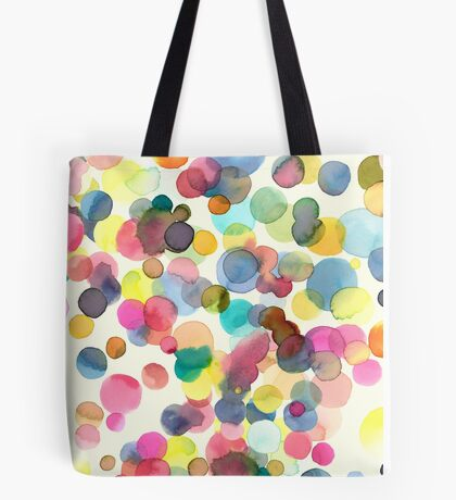 Color drops Tote Bag