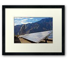 Solar Array Framed Print
