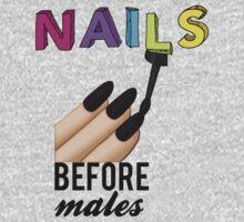 Nails Before Males by sabrinasinbin
