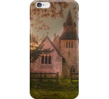 St Margaret Wychling In The Autumn iPhone Case/Skin