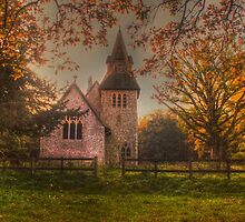 St Margaret Wychling In The Autumn by Dave Godden