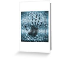 TV static noise Greeting Card