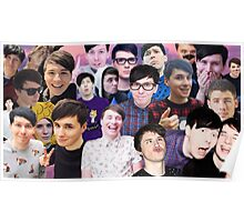 Phan collage #2 Poster