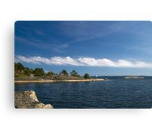 Archipelago in summer. Canvas Print
