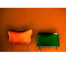 tijuana (two chairs) Photographic Print