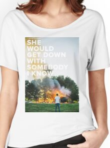 Sam Hunt - Break Up In A Small Town Women's Relaxed Fit T-Shirt