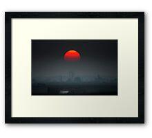 Horror triller Framed Print