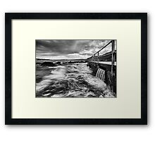 The Washing Machine - North Curl Curl, NSW Framed Print