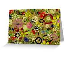 Asia Star Greeting Card