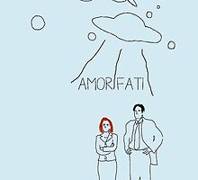 amor fati- the x files  by noellexmarie