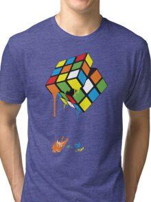 Rubik's Gloop Tri-blend T-Shirt