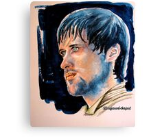Jonas Armstrong, featured in Shameless Self-Promotion, Art Universe Canvas Print