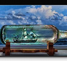 Ship in a Bottle by Richard  Gerhard