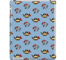 Pi and Pie Pirates pattern iPad Case/Skin