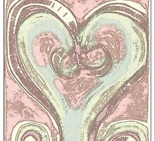 The High Tea Pastel Love Heart. By Lydeeah.. by Lydeeah112