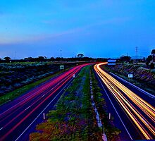 geelong ring road light trail by ketut suwitra