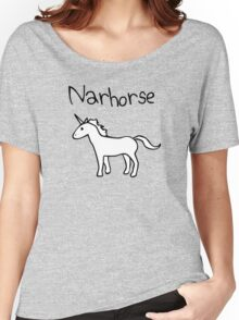 Narhorse (Unicorn) Women's Relaxed Fit T-Shirt