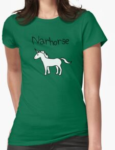 Narhorse (Unicorn) Womens Fitted T-Shirt