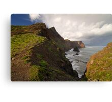 Dramatic landscape. Canvas Print