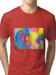 Through Time and Space Tri-blend T-Shirt