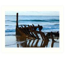 Rusted Hull Art Print