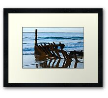 Rusted Hull Framed Print
