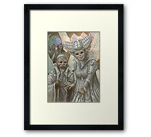 Elder Oeda of the Fey Framed Print