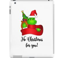 No Christmas for You! iPad Case/Skin