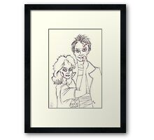 Our Love is God. Framed Print