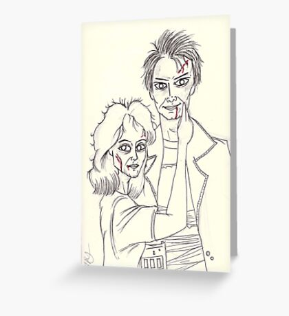 Our Love is God. Greeting Card