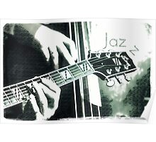Double bass and Guitar Poster
