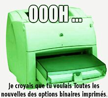 Les News Options Binaires avec imprimeur by Binary-Options