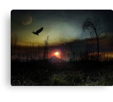 Another World Fine Art Canvas Print