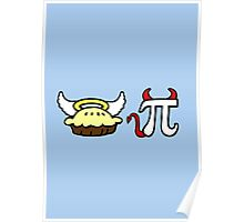 Angel Pie and Devil Pi Poster