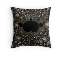 Star Field Vortex Throw Pillow