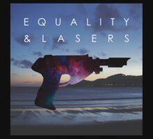 Equality and Lasers - Scandalous Heart artwork (Jez Kemp album) One Piece - Short Sleeve