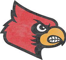 University of Louisville Cardinals Logo by indianastickies