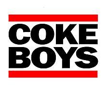 Coke Boys Photographic Print