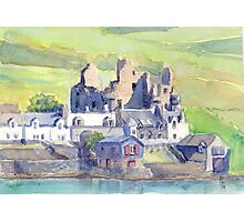 Scalloway Castle, Shetland Photographic Print