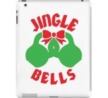 Jingle Bells (Kettlebell) - Christmas Workout Motivation iPad Case/Skin