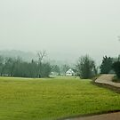 A Rainy Foggy Day Down On the Farm.  by barnsis