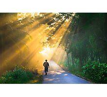 Showering rays  Photographic Print