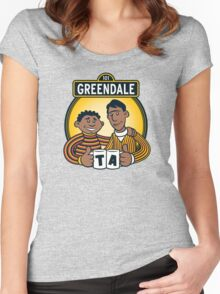 Greendale Street  Women's Fitted Scoop T-Shirt