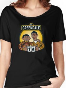 Greendale Street  Women's Relaxed Fit T-Shirt
