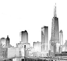 The Windy City. by PAPERPLAN